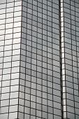 foto of lien  - glass office building with reflecting mirrored windows - JPG