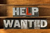Help Wanted Tray poster