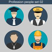 Постер, плакат: People Profession