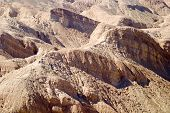 stock photo of anza  - eroded hills formation at the eastern end of anza borrego desert - JPG