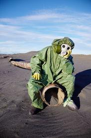 pic of scoria  - The afflicted scientific ecologist in urbanite desert - JPG