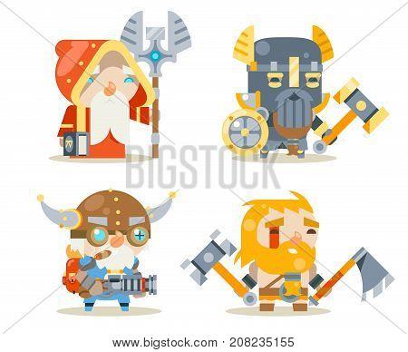 Dwarfs Warrior Defender