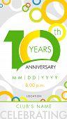 anniversary poster