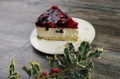 Creamy Mascarpone Cheesecake With Strawberry poster