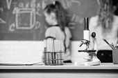 Always Question, Always Wonder. Chemistry Research In Laboratory. Science Experiments In Laboratory. poster