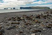Dyrholaey Peninsula In The Atlantic Ocean, Iceland poster