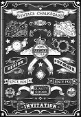 Hand Drawn Blackboard Banner