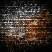 image of stonewalled  - grunge brick wall  - JPG