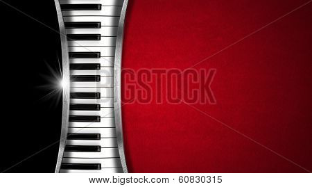 Music Vintage Business Card poster