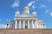 stock photo of pilaster  - Helsinki Finland - JPG