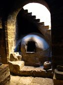 Somber Kitchen In Santa Catalina Monastery