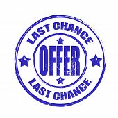Last Chance Offer Stamp