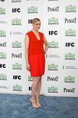 LOS ANGELES - MAR 1:  Greta Gerwig at the Film Independent Spirit Awards at Tent on the Beach on Mar
