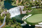Golf Waterfall