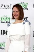 LOS ANGELES - MAR 1:  Sarah Paulson at the Film Independent Spirit Awards at Tent on the Beach on Ma