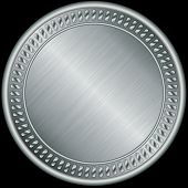 foto of medal  - Silver medal - JPG