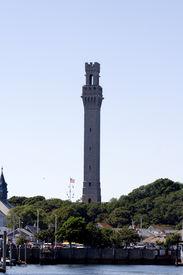picture of cape-cod  - Clock Tower in Cape Cod - JPG