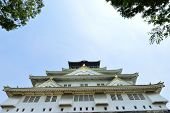 pic of shogun  - Osaka Castle Osaka city Japan in the summer [[** Note: Soft Focus at 100%, best at smaller sizes] ** Note: Visible grain at 100%, best at smaller sizes - JPG