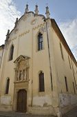 picture of vicenza  - Church of Saint Lorenzo in Vicenza Italy - JPG
