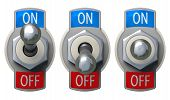 picture of toggle switch  - Toggle Switch set  - JPG