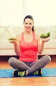 stock photo of hamburger  - fitness - JPG