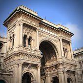 stock photo of emanuele  - Milan Italy - JPG