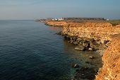 image of sevastopol  - Lighthouse on Khersones Cape near Sevastopol - JPG