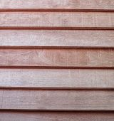 foto of red siding  - wooden strips horizontal texture background red color - JPG