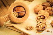 image of nutcracker  - Healthy food full of omega - JPG