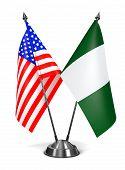 stock photo of nigeria  - USA and Nigeria  - JPG