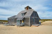 image of cape-cod  - Beach house at Cape Cod - JPG