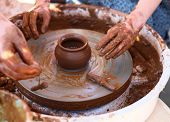 pic of pottery  - Potter - JPG