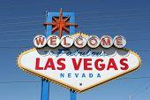 stock photo of keno  - Fabulous Las Vegas sign - JPG
