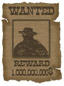 A Old Wanted Poster
