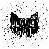 motivational cat poster
