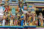 picture of hindu-god  - Hindu Temple in Colombo - JPG