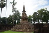 Old Town Historical Park Beautiful Tourist Attraction Old Buddha Old Pagoda Old Buildings , Sukhotha poster