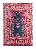 image of tabriz  - Arabian silk carpet on white backgroun - JPG