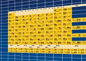 stock photo of mg  - Vector Periodic table - JPG