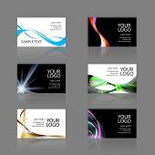 Постер, плакат: Ассортимент визитных карточек
