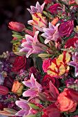 stock photo of flower arrangement  - arrangement at philadelphia flower show - JPG