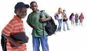 Постер, плакат: Школа дети разнообразие