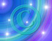 Copyright Symbol poster