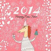 pic of year horse  - Happy 2014 Year of the Horse - JPG