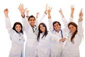 Постер, плакат: Очень рад группа врачей
