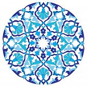 picture of ottoman  - series of patterns designed by taking advantage of the former Ottoman - JPG