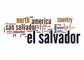 El Salvador Word Cloud