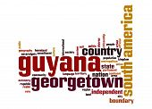 Guyana Word Cloud