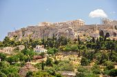 Greek Acropolis from Ancient Agora