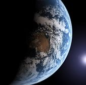 Earth Model poster